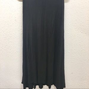 LulaRoe Maxi skirt black small